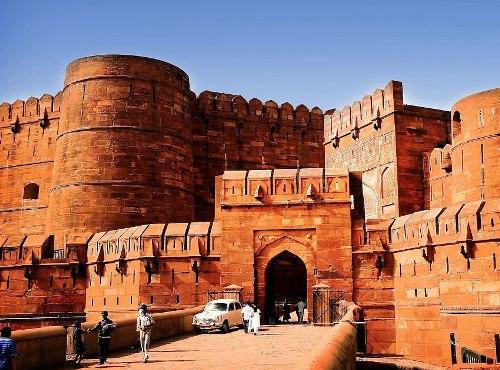 El Fuerte de Agra, en la India