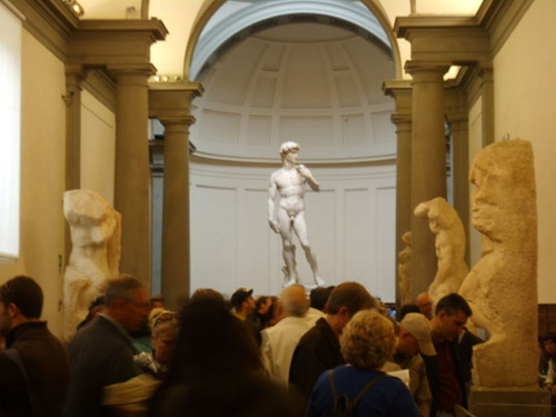 La Galeria de la Academia de Florencia