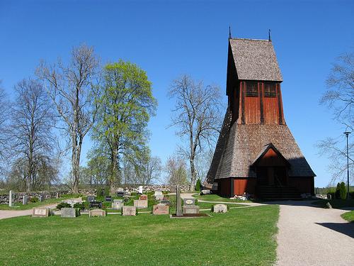 Gamla Uppsala, pasado pagano en Suecia