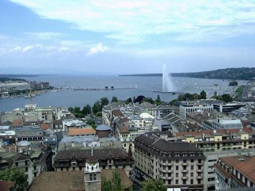 Ginebra y el Lago Leman.