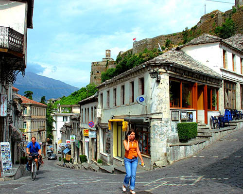 Gjirokastër, legado otomano en Albania