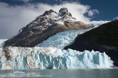 El Parque Nacional los Glaciares en Argentina