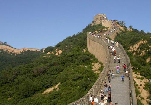 Badaling, la Gran Muralla cerca de Beijing
