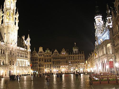 Viaje de novios, Bruselas, Brujas y Gante