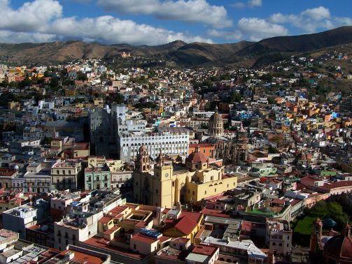 Guanajuato, ciudad colonial en México
