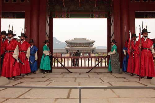 El Palacio Gyeongbokgung, residencia real en Seúl