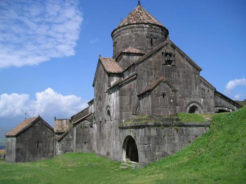 El Monasterio de Haghpat, en Armenia