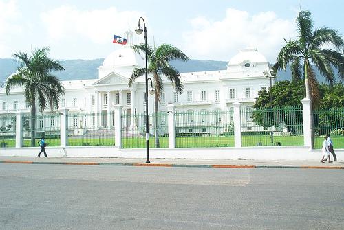 Palacio presidencial Haitì Puerto Prîcipe