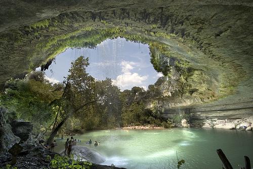 Hamilton Pool, paraíso de la naturaleza en Texas