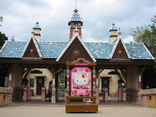 Parques temáticos Hello Kitty en Japón