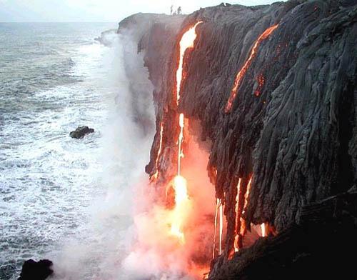 El Parque Nacional de los Volcanes, en Hawai