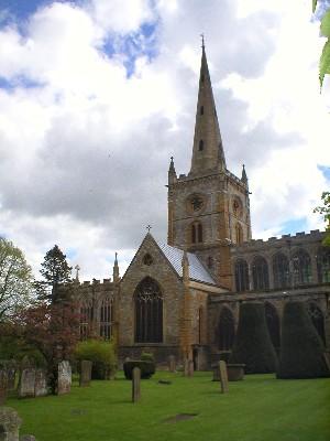 Iglesia de Holy Trinity en Stratford
