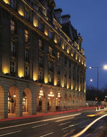 Hotel Ritz, tomando un te de lujo en Londres