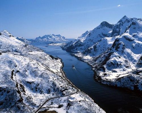 En Noruega, de Leon Lasa