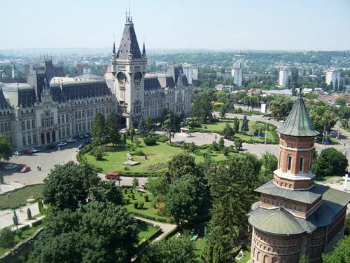 Iasi y sus iglesias, en Rumanía
