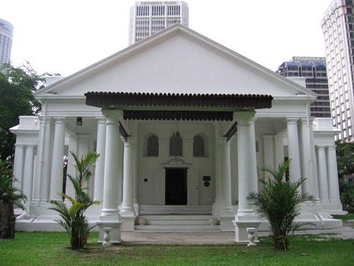 La Iglesia Armenia, elegancia europea en Singapur
