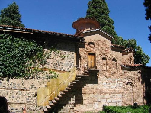 La iglesia de Boyana, en Bulgaria