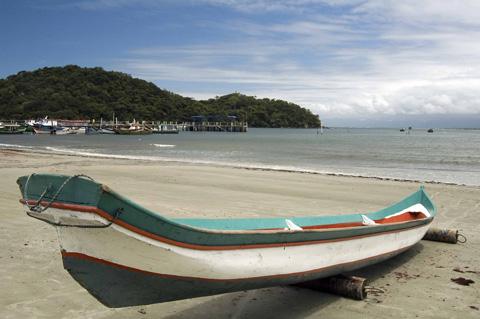 Ilha do Mel en Brasil