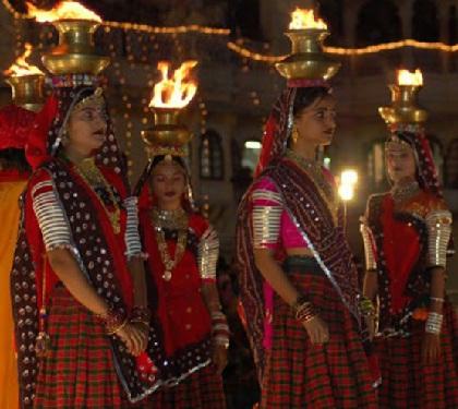 Gangaur, el festival de Jaipur