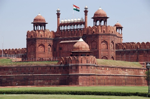 Fortaleza roja, Delhi, India
