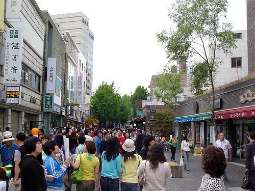 Insadong, un paseo cultural por Seúl