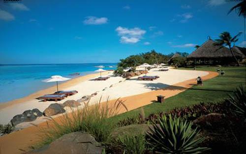 Las playas de Isla Mauricio