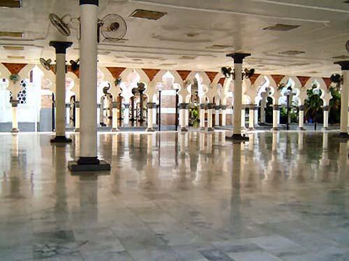 Mezquita Masjid Jamek en Kuala Lumpur