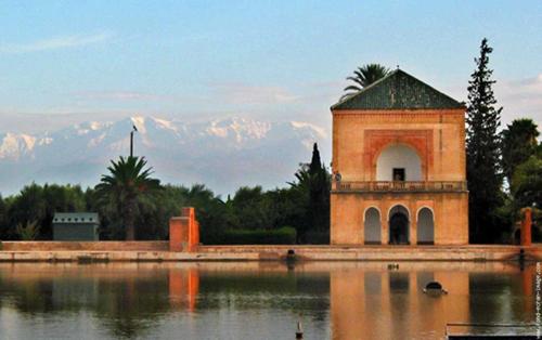 El Jardín de la Menara, en Marrakech