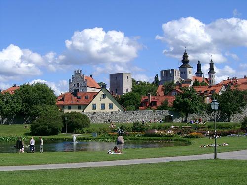 Visby, la ciudad medieval de Suecia