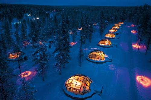 Duerme en un iglú por San Valentín