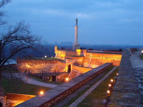 La ciudadela de Kalemegdan, en Belgrado