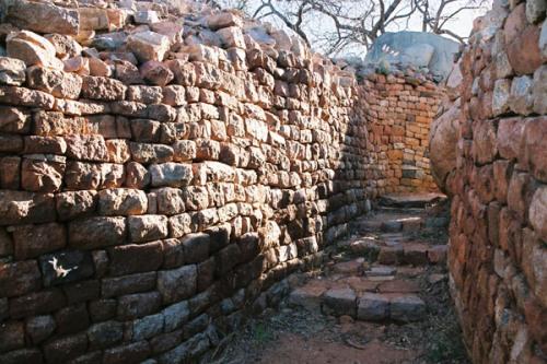 Las ruinas de Khami, en Zimbabwe