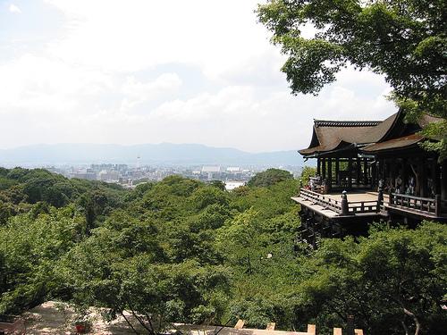 El Templo Kiyomizudera, en Kioto