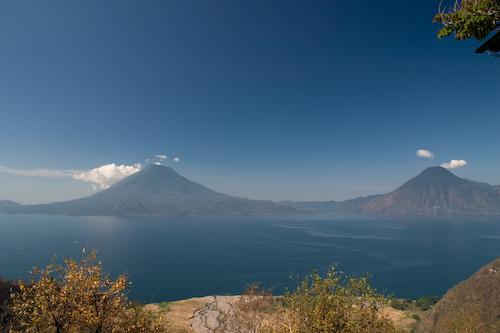 El Lago Atitlan en Guatemala