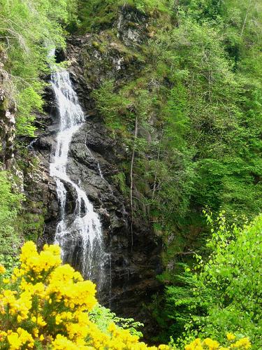 Cataratas Divach, Lago Ness, Escocia