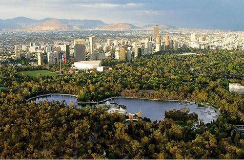 Chapultepec, el parque mas grande de América