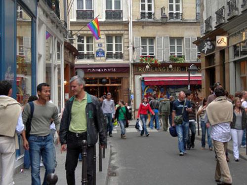 Recorrer Le Marais, en Francia