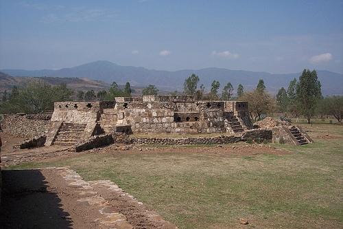 Piramide de Ixtlan
