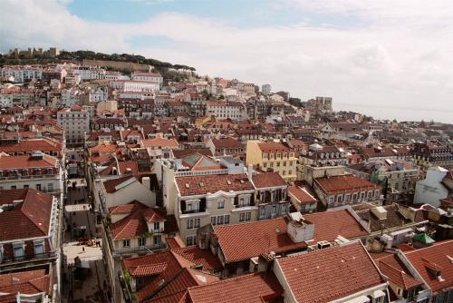Vista panoramica de Lisboa