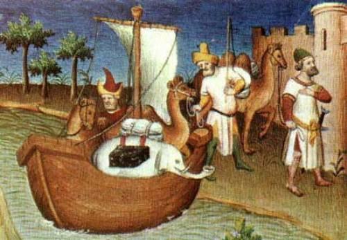 Ilustracion de la Ruta de la Seda