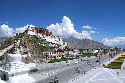 Lhasa, capital de Tibet