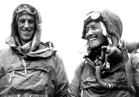 Edmund Hillary, alpinismo, montañismo