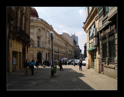 Lipscani, el corazón medieval de Bucarest