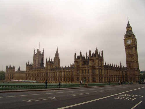 Viaje de novios, tres días en Londres