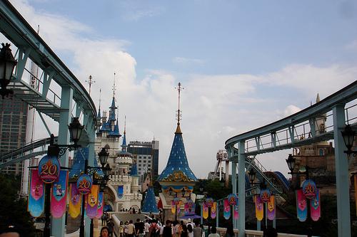 Lotte World, parque de atracciones y cultura coreana