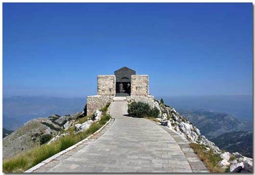 El Mausoleo de Lovcen, en Montenegro