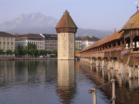Lucerna, la joya suiza de los Alpes