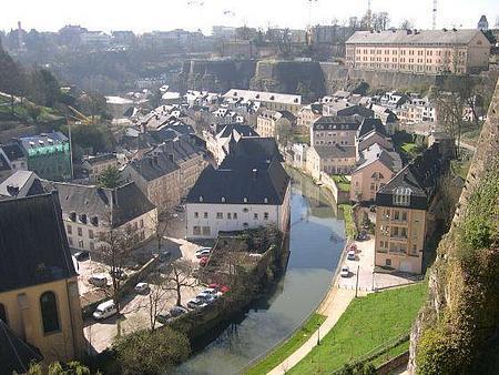Luxemburgo desde el castillo