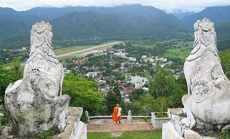 Mae Song Hong desde el templo Vat Phra That