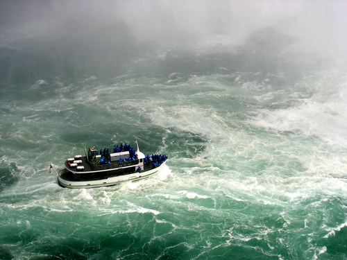 maid of the mist en Niagara